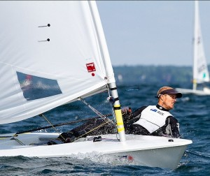 Tom Burton at Laser Worlds
