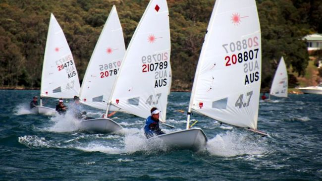 Jack Littlechild Leads in 4.7 on Sunday - Photo Claire Alexander